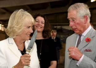 il principe carlo intimorito dalla moglie camilla parker bowles