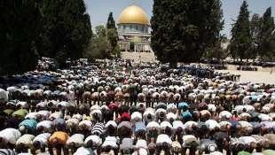 israele spianata moschee