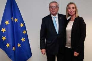 Juncker Mogherini
