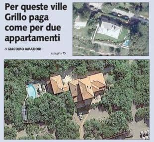 LE VILLE DI BEPPE GRILLO