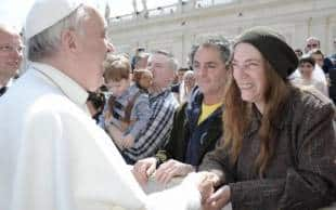 patti smith papa francesco bergoglio