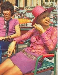 keith richards anita pallenberg a roma