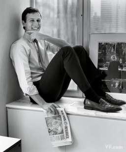 jared kushner con il suo giornale