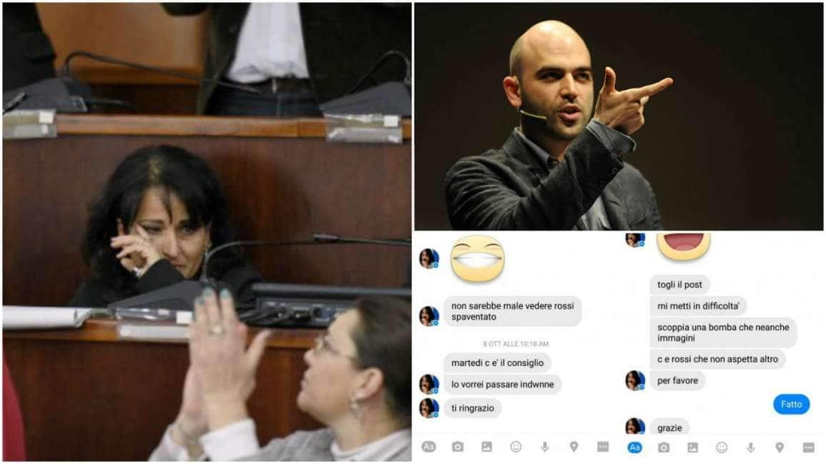 saviano chiede le dimissioni della sindaca grillina  ~ Quarto Rosa Capuozzo