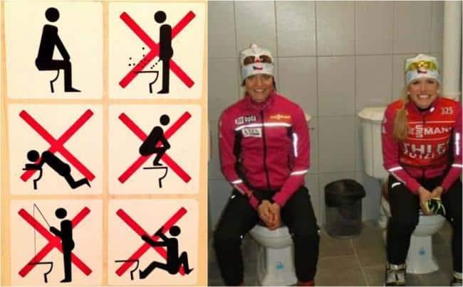 A sochi si parla solo dei cessi vietato pescare nella tazza con la canna da pesca media e tv - Andare spesso in bagno a defecare ...