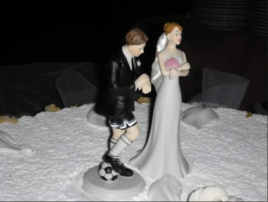 Matrimonio Tema Sport : Dicono che un nobile sportivo in odor di nozze non abbia