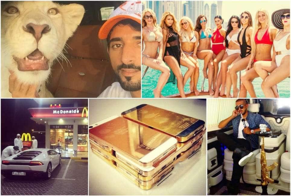 I pi ricchi tra i 39 rich kids 39 quelli di dubai ecco come - Dubai a gennaio si fa il bagno ...