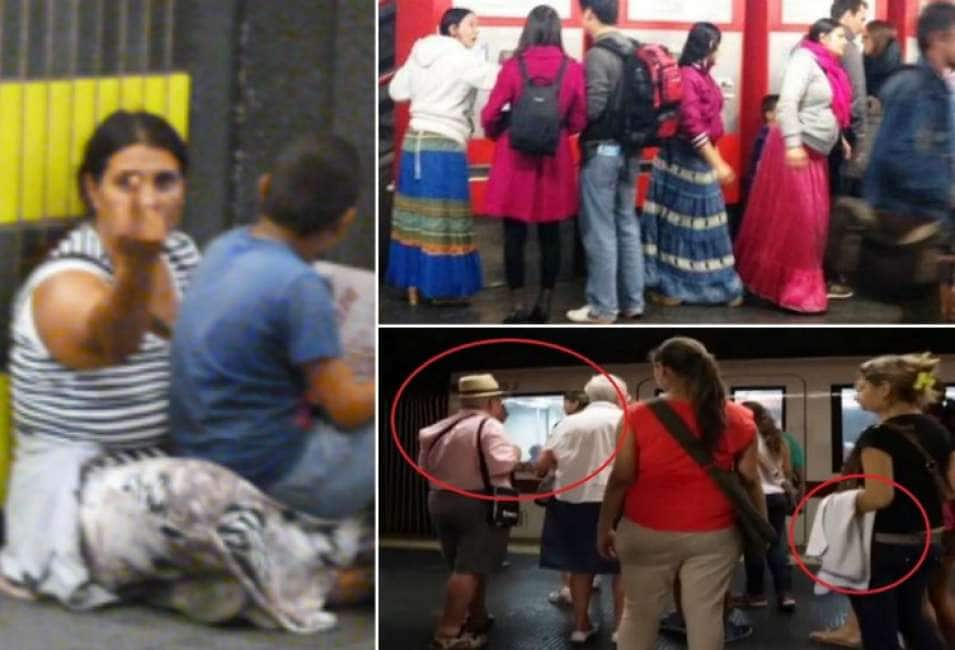 rom picchiata in metro dopo tentato furto: insultata la giornalista intervenuta in sua difesa