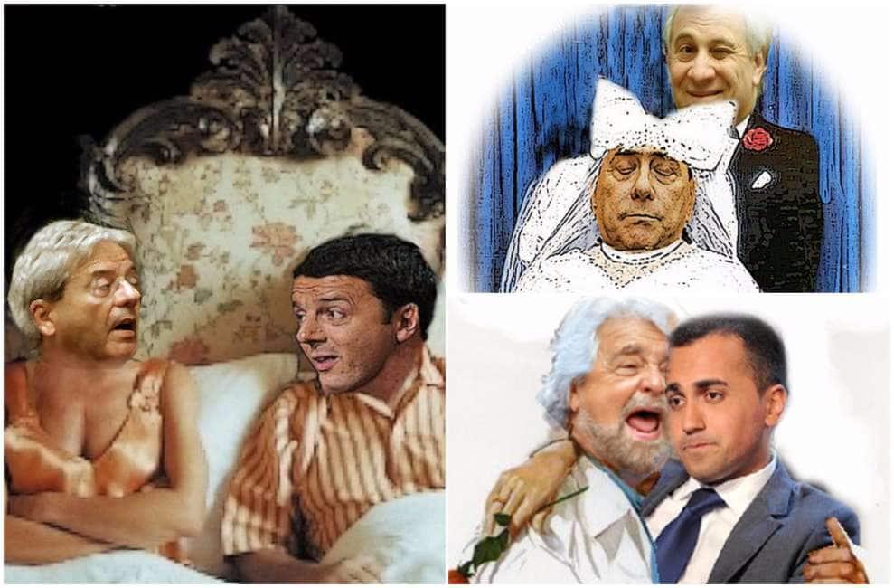 Risultati immagini per Teatrino Italia - Sulla scena solo politici scodinzolanti