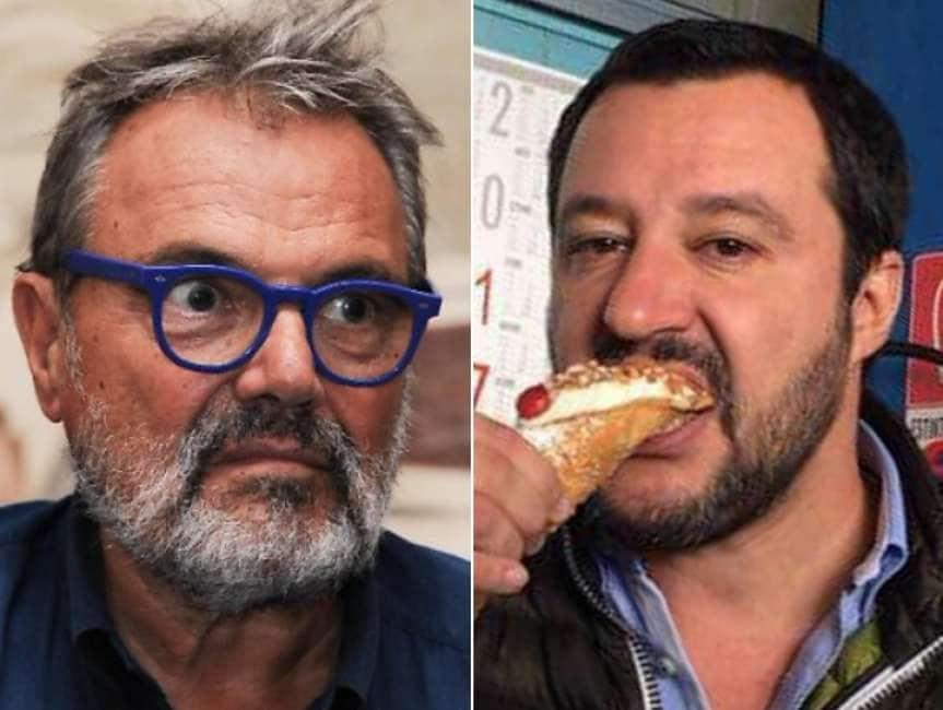oliviero toscani condannato a pagare 8.000 euro per gli insulti a matteo salvini - il giornale
