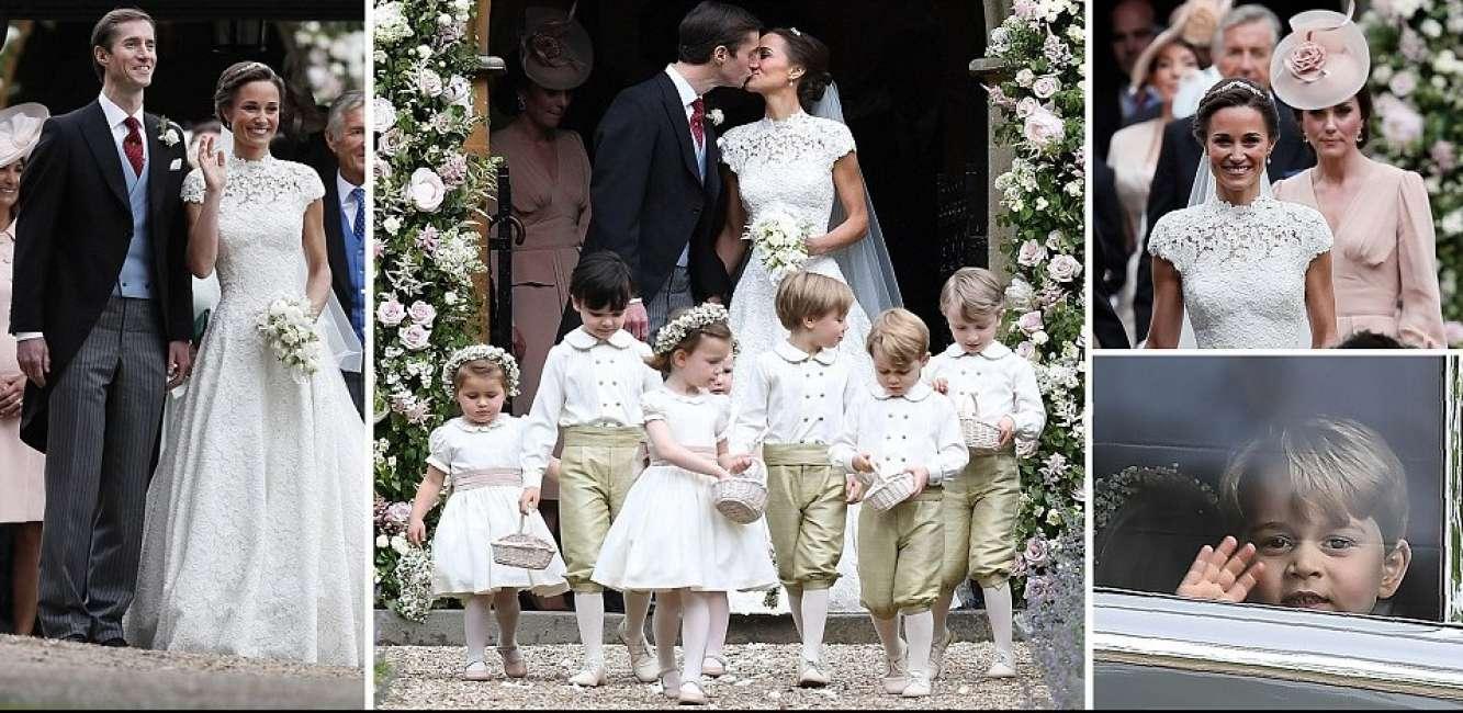 Matrimonio Di Pippa : Kate middleton al matrimonio di pippa le foto con la sposa e con