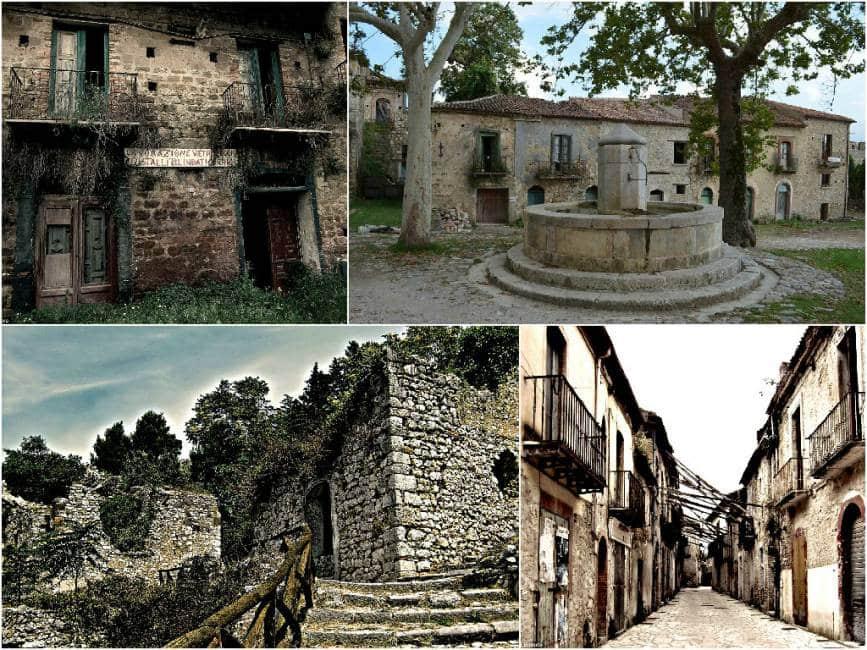 Il fascino della solitudine ecco l italia delle citta for Case abbandonate italia