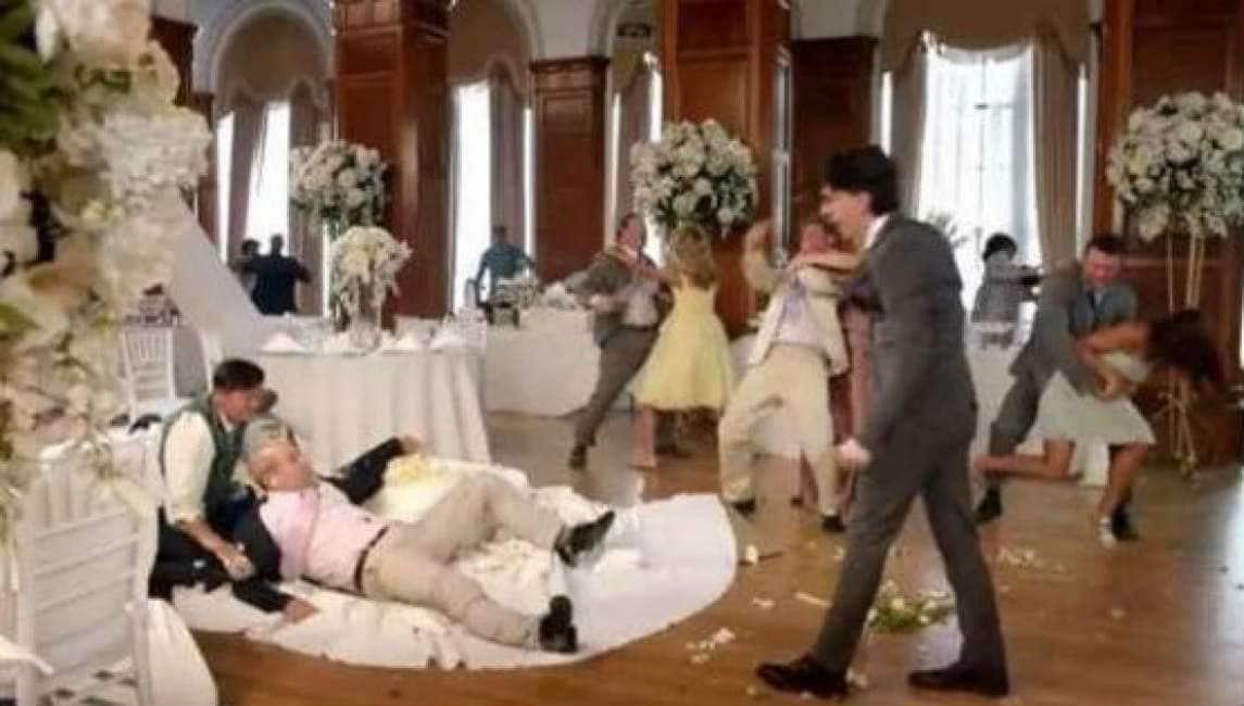 Festa Matrimonio Uomo : Banchetto di nozze sfocia in rissa lo sposo sorpreso ad