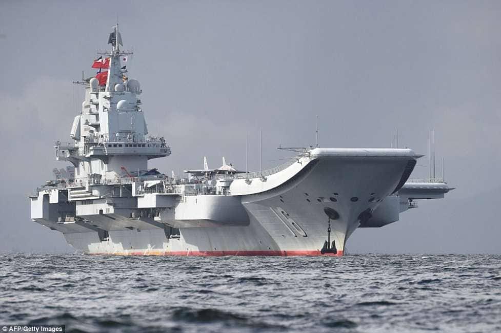 Finche 39 la barca va la portaerei cinese liaoning - Nuova portaerei ...