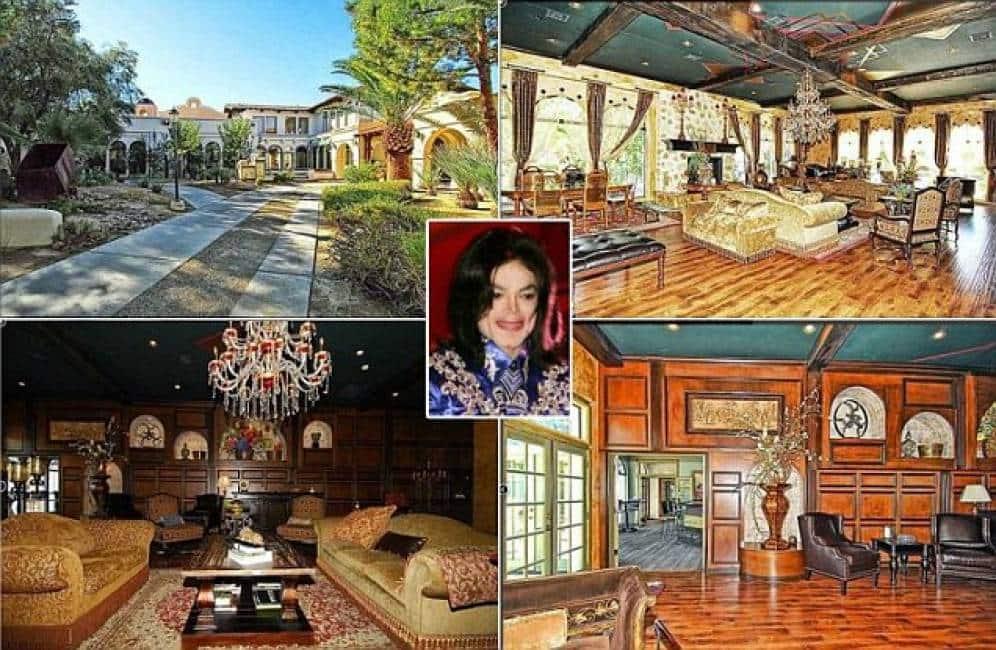 Mai dire neverland l ultima casa di jackson in vendita for Case in stile ranch hacienda