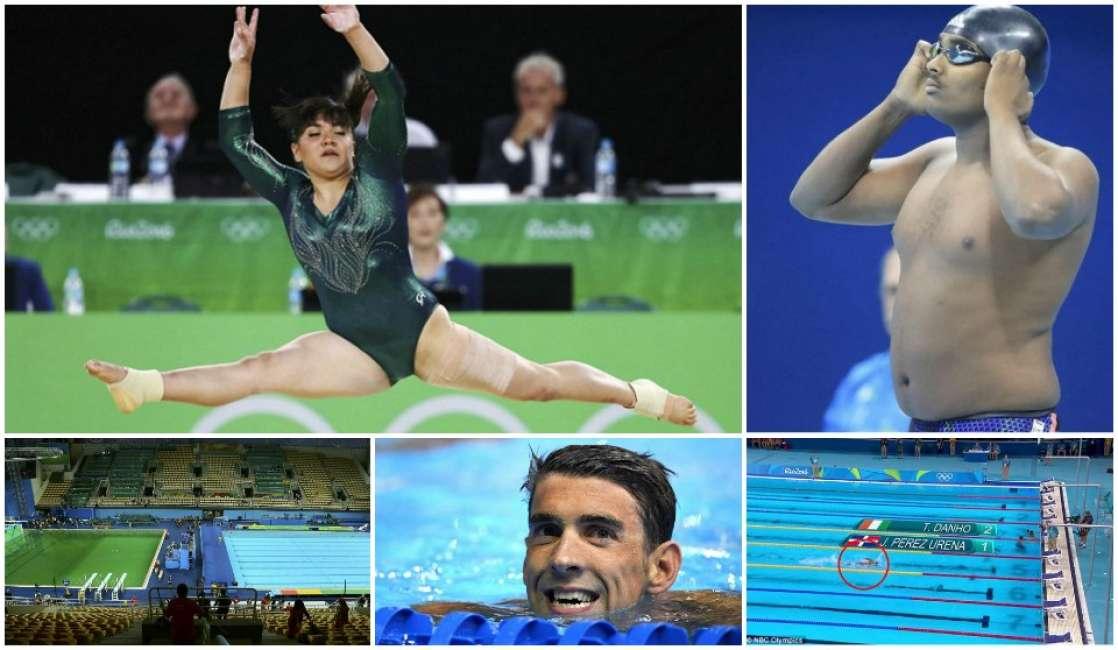 Il peggio delle olimpiadi piscine verdi altri atleti cicciottelli phelps che piscia sport - Piscina olimpiadi ...