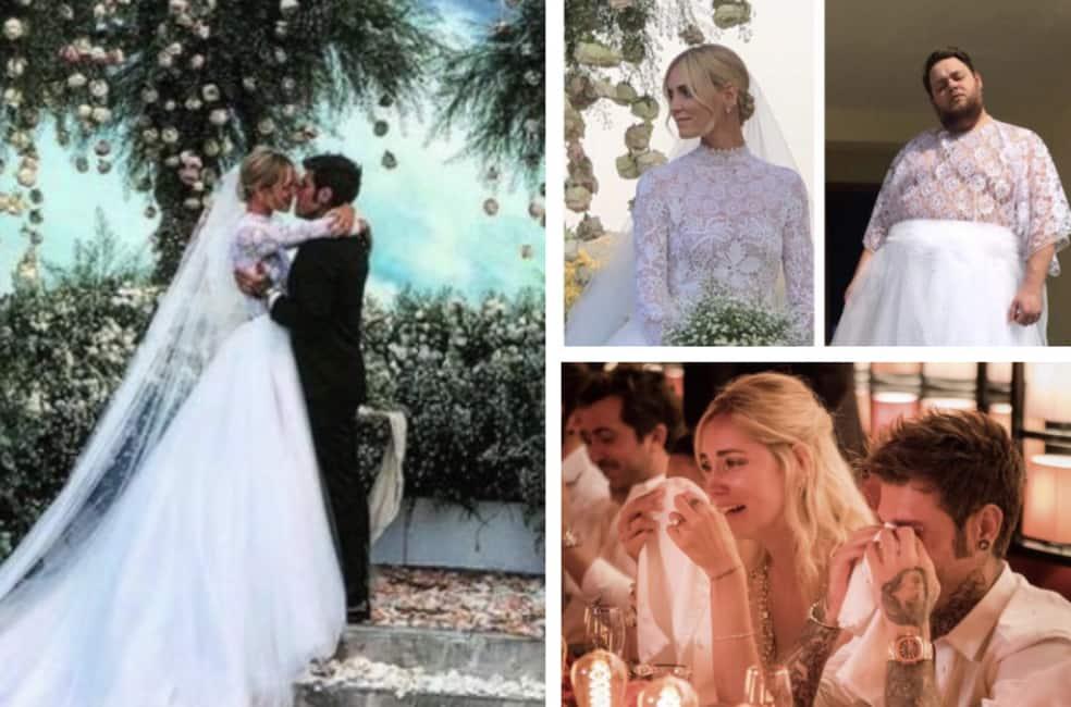Matrimonio In Diretta Ferragnez : Tutti i tweet sul matrimonio dei ferragnez per