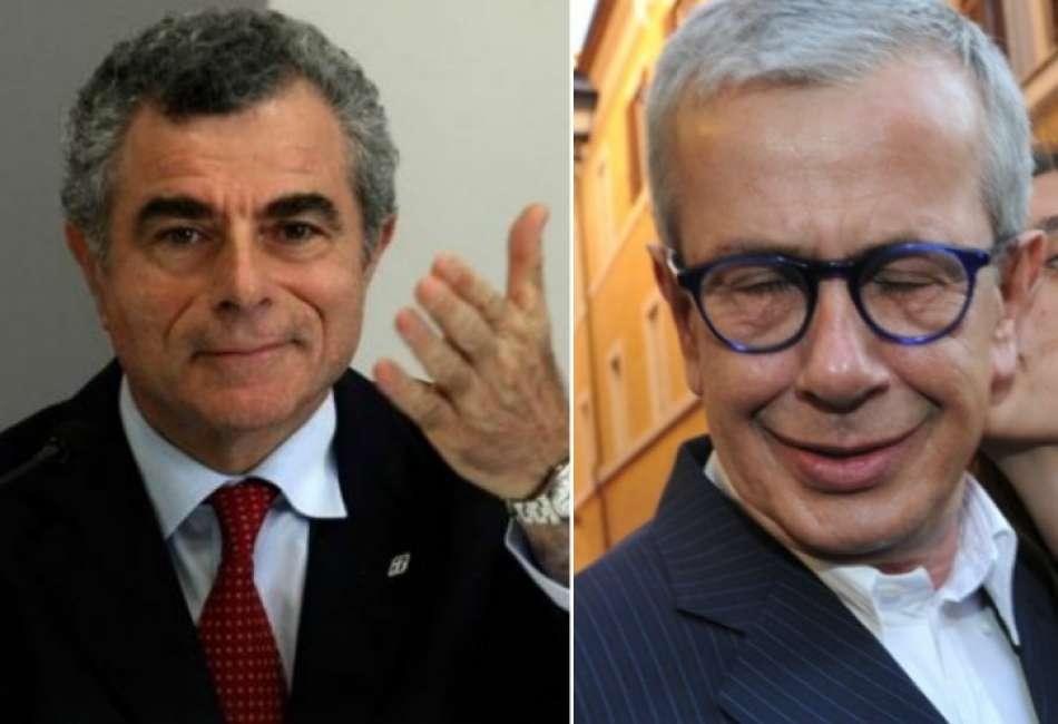 Mauro Moretti Chicco Testa Vitrociset Leonardo