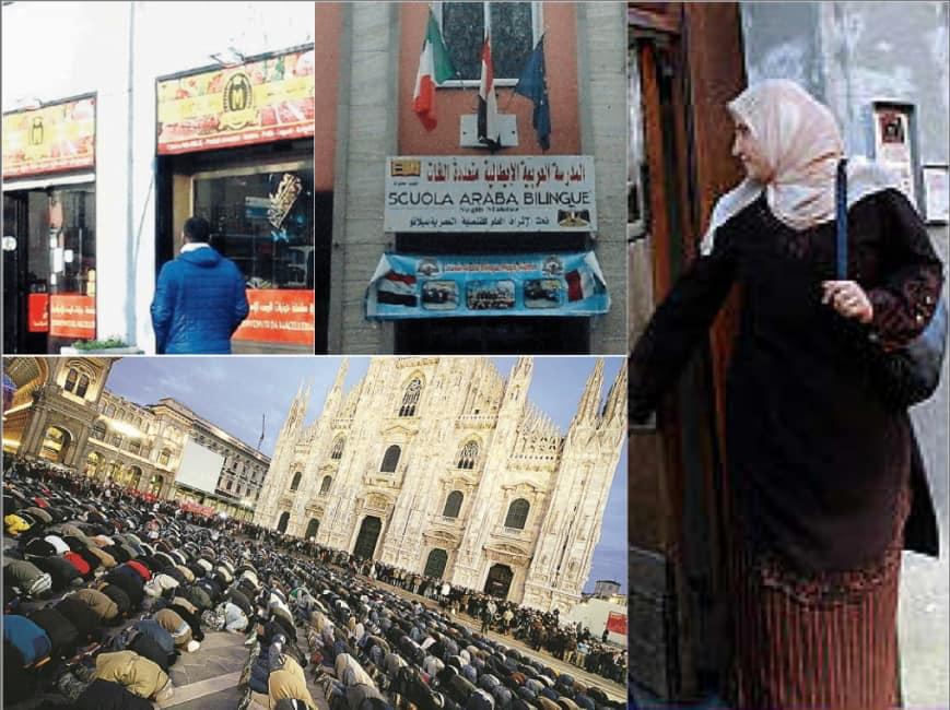 San siro parla arabo il quartiere di milano vicino allo - Cosa si puo portare allo stadio san siro ...