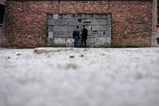 muro della morte ad auschwitz