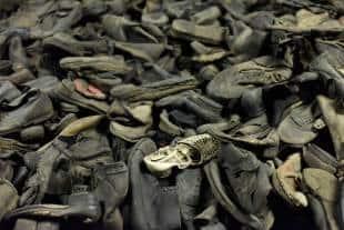 scarpe dei prigionieri di auschwitz