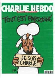 copertina di charlie hebdo con maometto