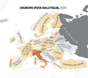 europa vista dall italia
