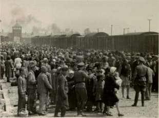Auschwitz selezione detenuti