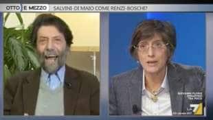 MASSIMO CACCIARI GIULIA BONGIORNO