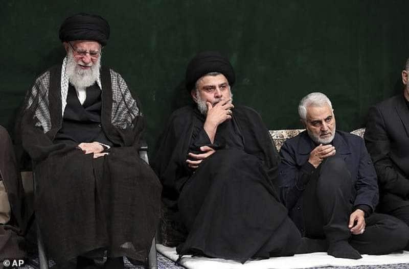 ali khamenei muqtada al sadr