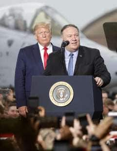 DONALD TRUMP MIKE POMPEO