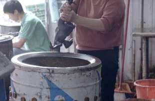 mercato tradizionale cinese