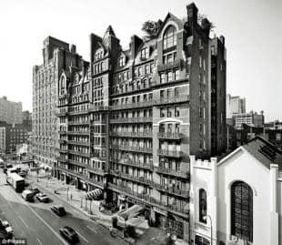 Il Chelsea Hotel fu rifugio di musicisti e scrittori