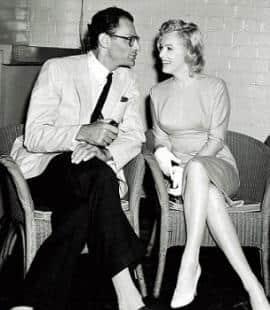 Miller visse al Chelsea Hotel dopo il divorzio da Marilyn