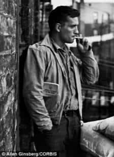 Uno scatto di Jack Kerouac