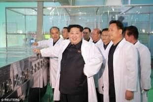 la corea del nord ha tonnellate di armi chimiche