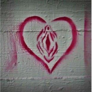clitoride graffiti
