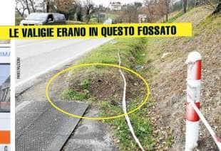 la morte di pamela mastropietro il fossato in cui e stato ritrovato il corpo