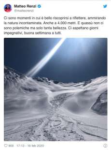 MATTEO RENZI SULL HIMALAYA PACHISTANO
