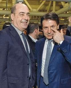 nicola zingaretti giuseppe conte