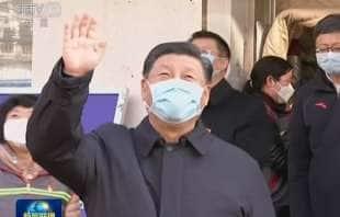 xi jinping con la mascherina 5