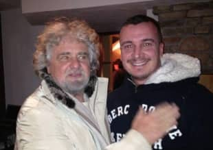 BEPPE GRILLO E ROCCO CASALINO