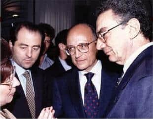ANTONIO DI PIETRO SAVERIO BORRELLI GERARDO DAMBROSIO