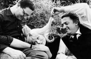 Fellini sul set di La Dolce Vita