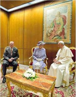 La Visita A Roma Della Beghina Elisabetta Era Tutta Per Re Giorgio Politica