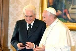 Mattarella Bergoglio