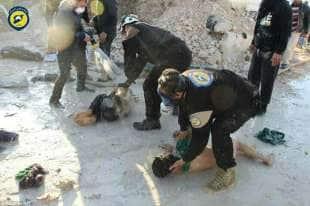 attacco chimico in siria