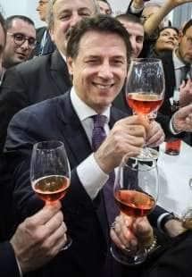 giuseppe conte a vinitaly