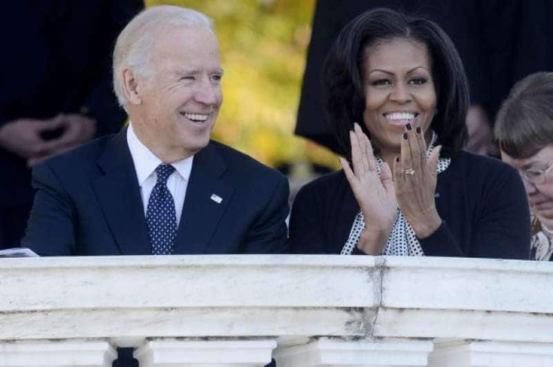 joe biden michelle obama