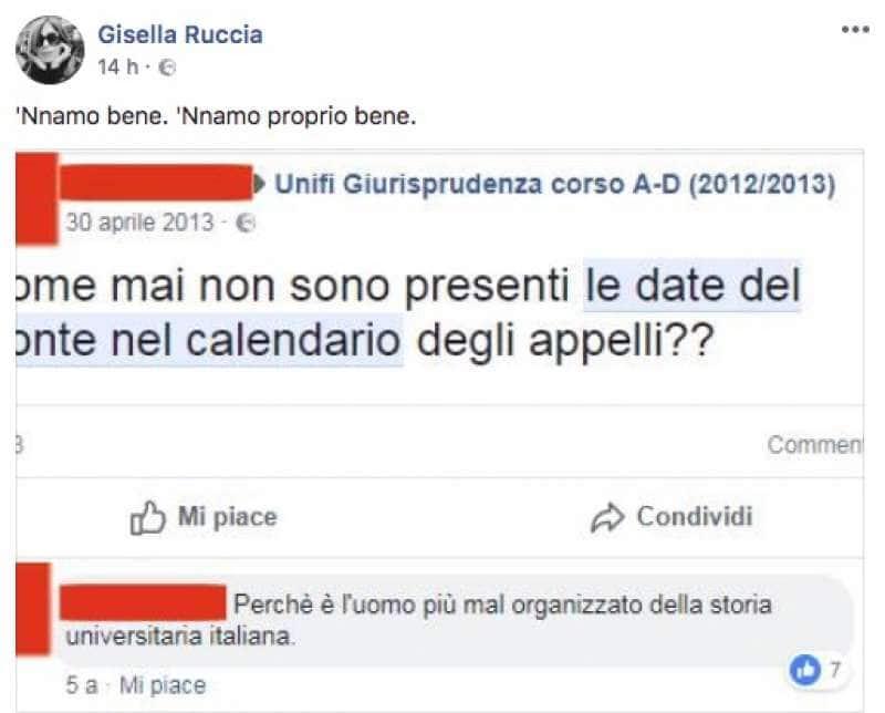 Calendario Unifi.Gli Screenshot Degli Studenti Su Giuseppe Conte